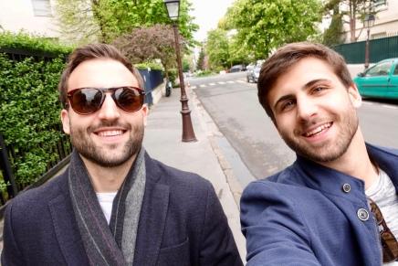 A selfie from Jeremy's camera