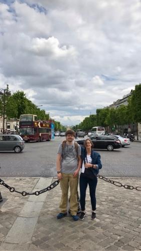 Champs-Élysées from the Arc de Triomphe