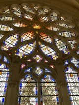 The window in the chapel