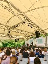 Paris Jazz festival in the Parc Floral