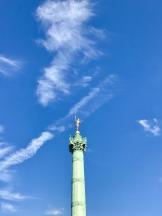 Place de la Bastille- this was a new one for me!