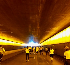 Not the tunnel where Di was killed, but it looked pretty similar!