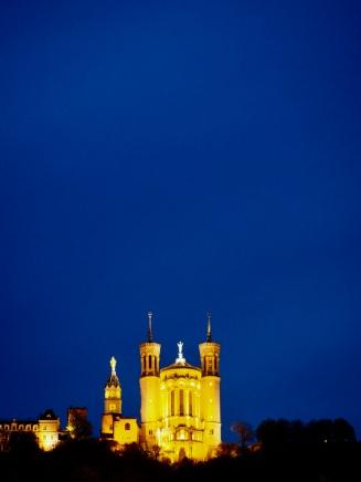 Basilica at night